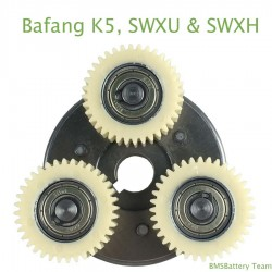 Gear set for Bafang K5, SWXU & SWXH motor