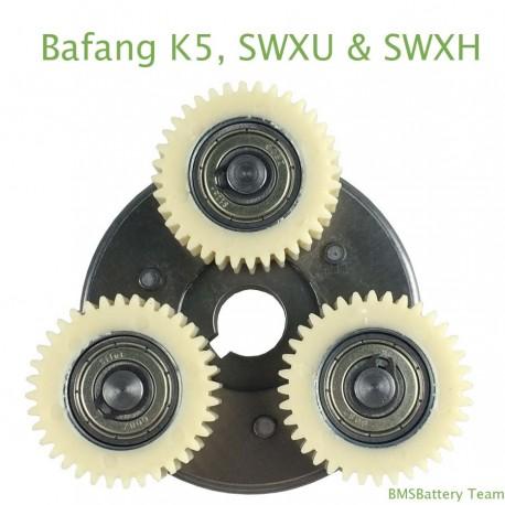 Gear set for Bafang K5, SWXU & SWXH motor