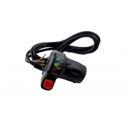 Half Twist Throttle with LED Voltage Level Display