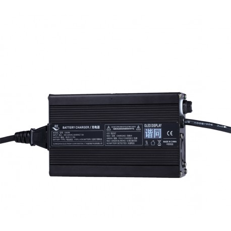 C600M 600Watts Battery Charger with OLED Diaplay Screen