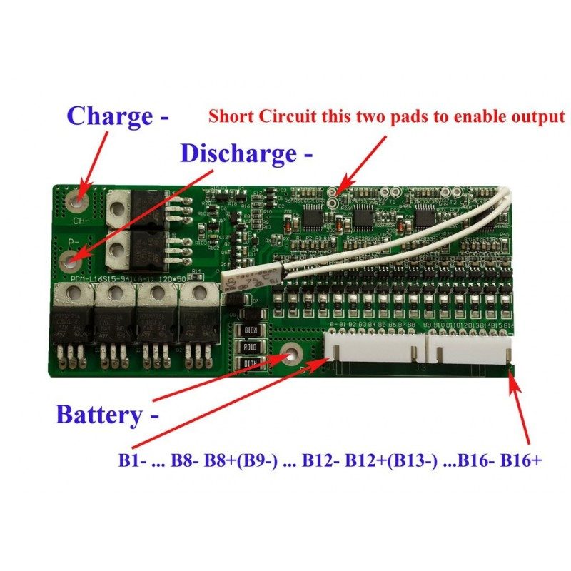 8s Lifepo4 Bms Battery Management System