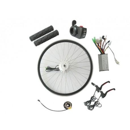 Q128 48V400W-500W Front Driving V-Brake E-Bike Kit