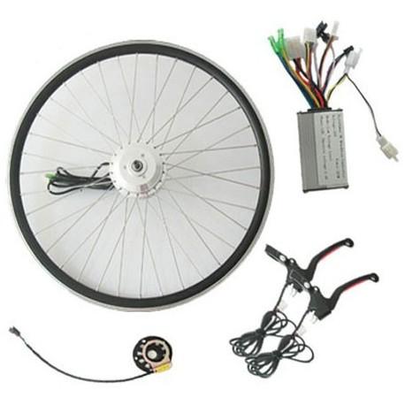 Q85 36V200W-250W Front V-Brake E-Bike Kit with LED Meter
