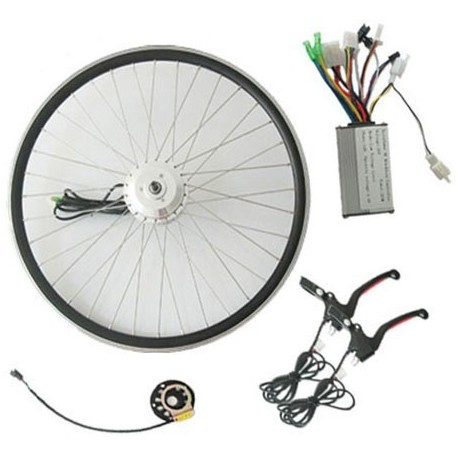 36V250W Front SWXU V-Brake Motor E-Bike Kit with LED Meter