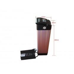 36V15Ah Li-Ion Alloy 01-Case EBike Battery Pack