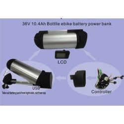 36V10Ah Bottle ebike battery power bank