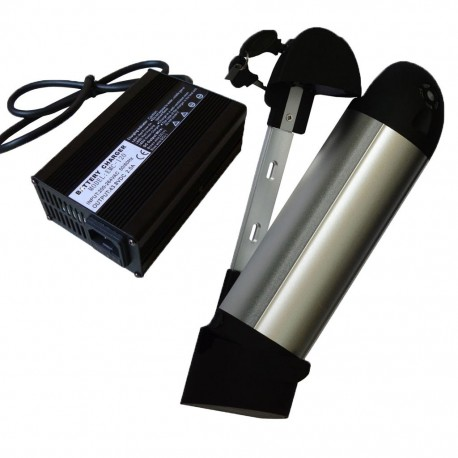 36V10Ah Right Off Bottlle Battery Pack with Charger