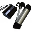 36V10Ah Right Off Bottle Battery Pack with Charger