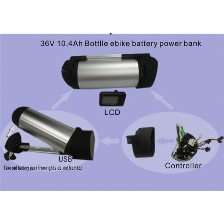 36V 11.6Ah Bottlle ebike panasonic battery