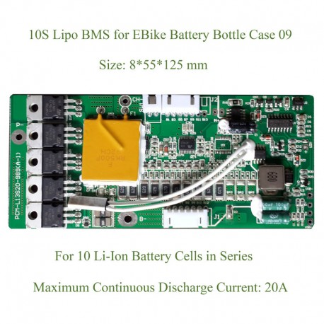 10S 13S Lithium-Ion 18650 BMS for Bottle Battery 09