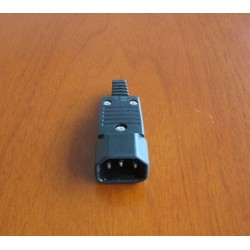 Prong Male IEC-320-C14 Connector