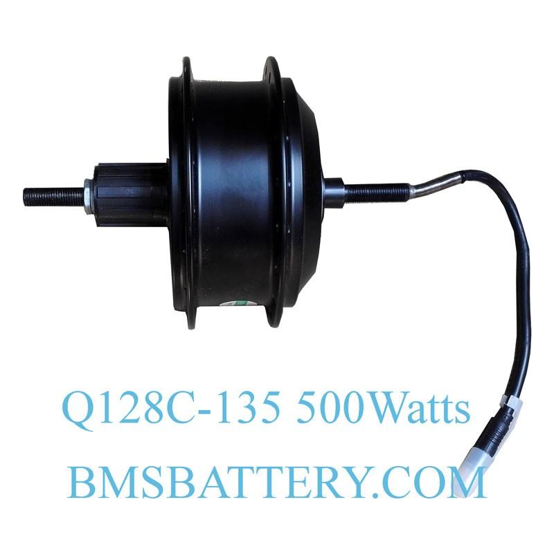 Q128c 135mm 500w Rear Driving Ebike Hub Motor