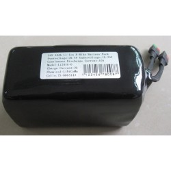 48V15Ah Li-Ion Shrink Tube EBike Battery Pack