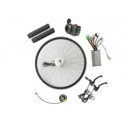 Q128 36V400W-500W Front Driving V-Brake E-Bike Kit